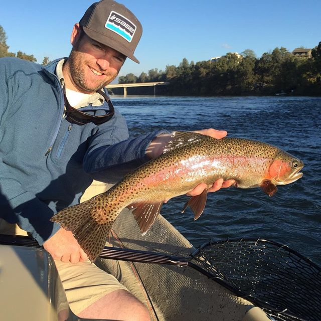 Had the chance to float and catch up with good buddy @mattheronflyfishing and his dad Dan on the Lower Sac today. Good times , great company and a few doubles made for a stellar day!!! #flyfishing #sageflyfish #redington #alpineflyfishing #mattheronflyfishing #maketheconnection #bentrods #lowersac #wildtrout #bigrainbows