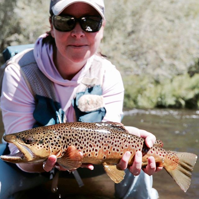 What a way to make a comeback to trout fishing @keristrategier … We haven't fished together for years on our favorite stream and it was one for the books … As usual the girls out fished the guys !Huge thanks to @bandlesslozano @fishkennedybrothers @cherokeeflygirl @steffaniejackson for making this one of the best weekends in recent memory . We are blessed to have you all as friends and family ! Cheers you to guys !!!📸 @fishkennedybrothers @kritterfer ••••#summertime #realitytv #flyfishing #baldfacehornets #turnontheheater #breakfastofchampions #scottflyrods #campfire #glamping #browniebites #isitlevel #quagmire #stonefly #thatwillwork #girlswhoflyfish #thatwasahit #missedem #whiteclams #goodtimes #itdoesntgetanybetterthanthis #browntown